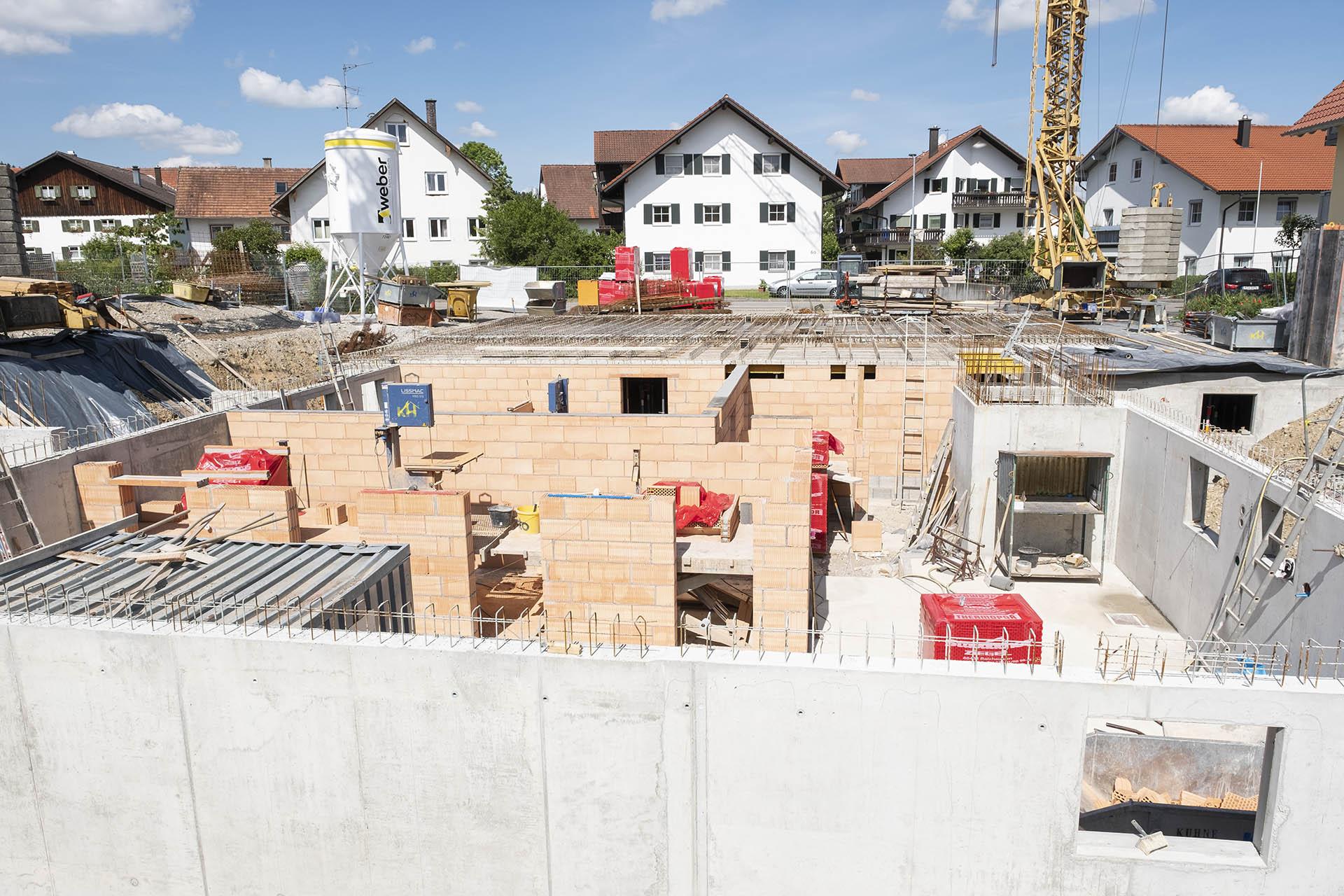 2. Bauabschnitt Kimratshofen - Kuhn und Handwerker Bad Grönenbach Zell Unterallgäu