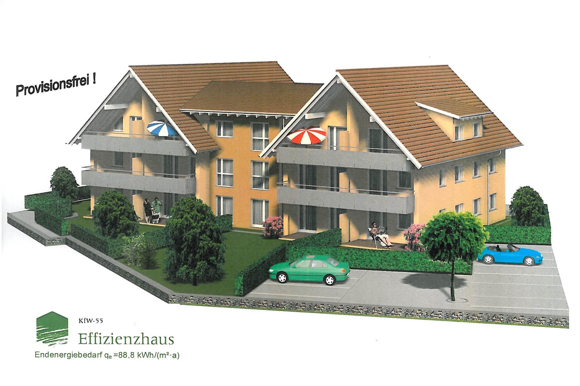 Objekt im Bau - 2. Bauabschnitt Wohnanlage Kimratshofen - Kuhn und Handwerker Bad Grönenbach Zell Unterallgäu